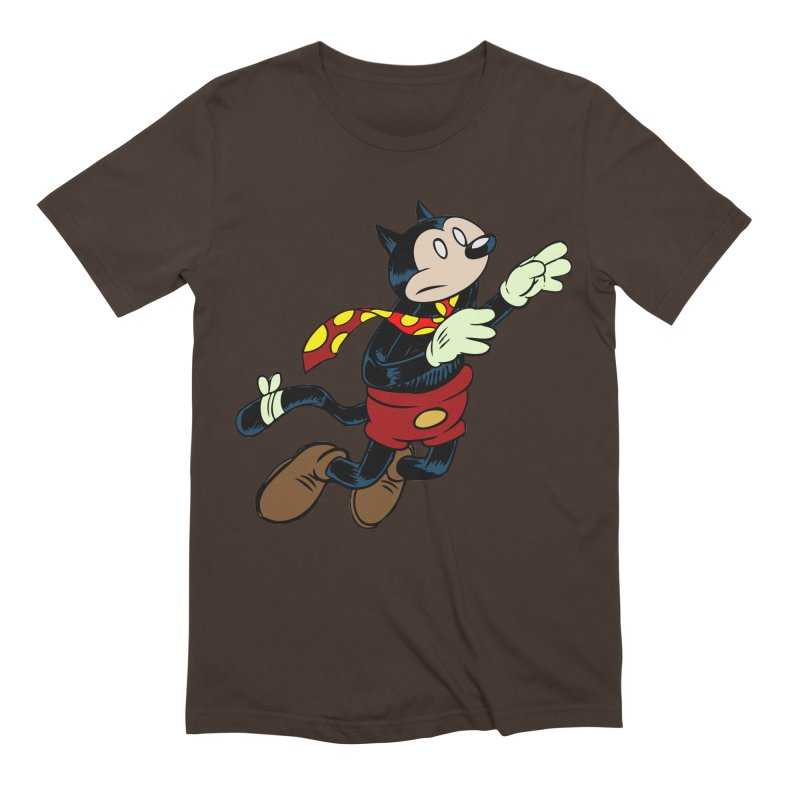 Dingbat the Cat Men's Extra Soft T-Shirt by Magic Inkwell