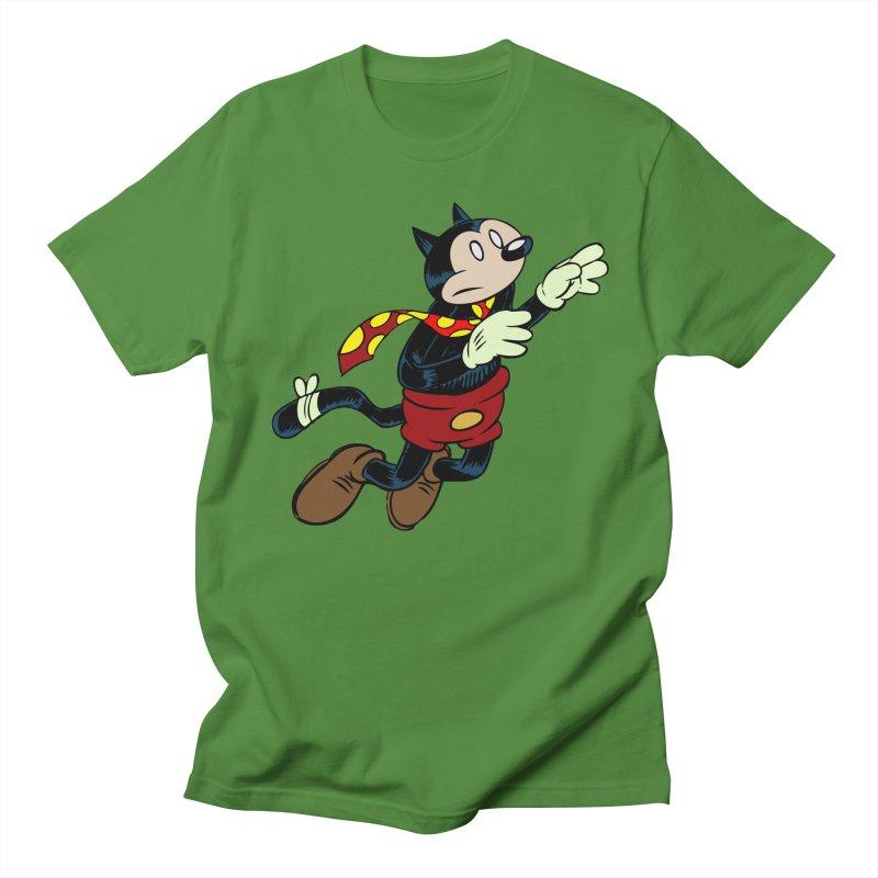 Dingbat the Cat Men's Regular T-Shirt by Magic Inkwell
