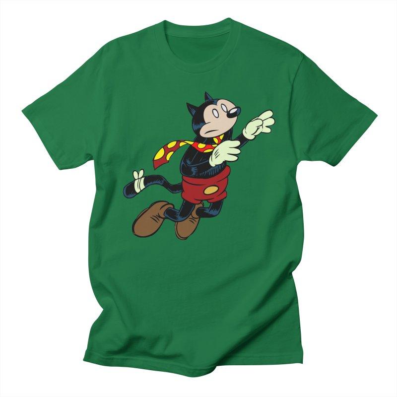 Dingbat the Cat Women's Regular Unisex T-Shirt by Magic Inkwell