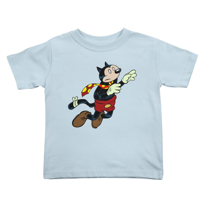Dingbat the Cat Kids Toddler T-Shirt by Magic Inkwell