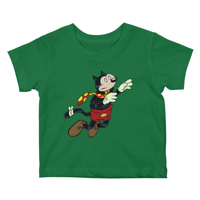 Dingbat the Cat Kids Baby T-Shirt by Magic Inkwell