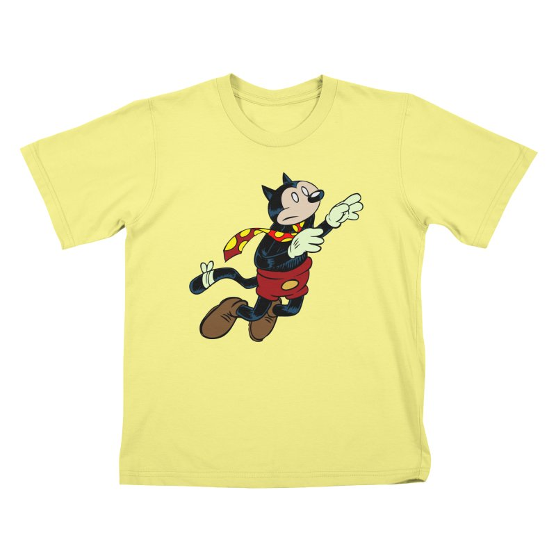 Dingbat the Cat Kids T-shirt by Magic Inkwell