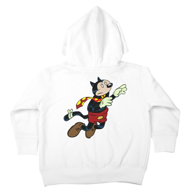 Dingbat the Cat Kids Toddler Zip-Up Hoody by Magic Inkwell