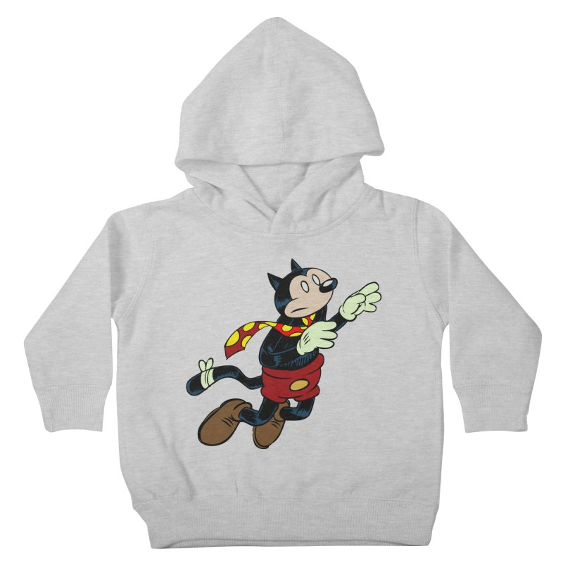 Dingbat the Cat Kids Toddler Pullover Hoody by Magic Inkwell