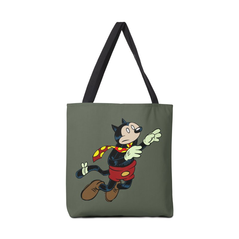 Dingbat the Cat Accessories Tote Bag Bag by Magic Inkwell