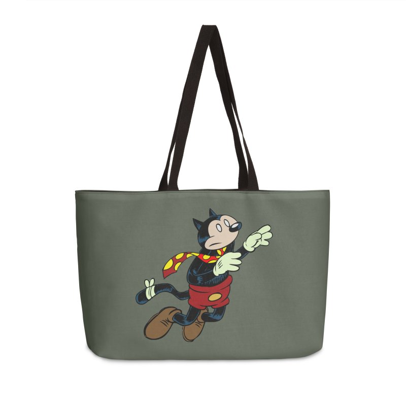 Dingbat the Cat Accessories Weekender Bag Bag by Magic Inkwell