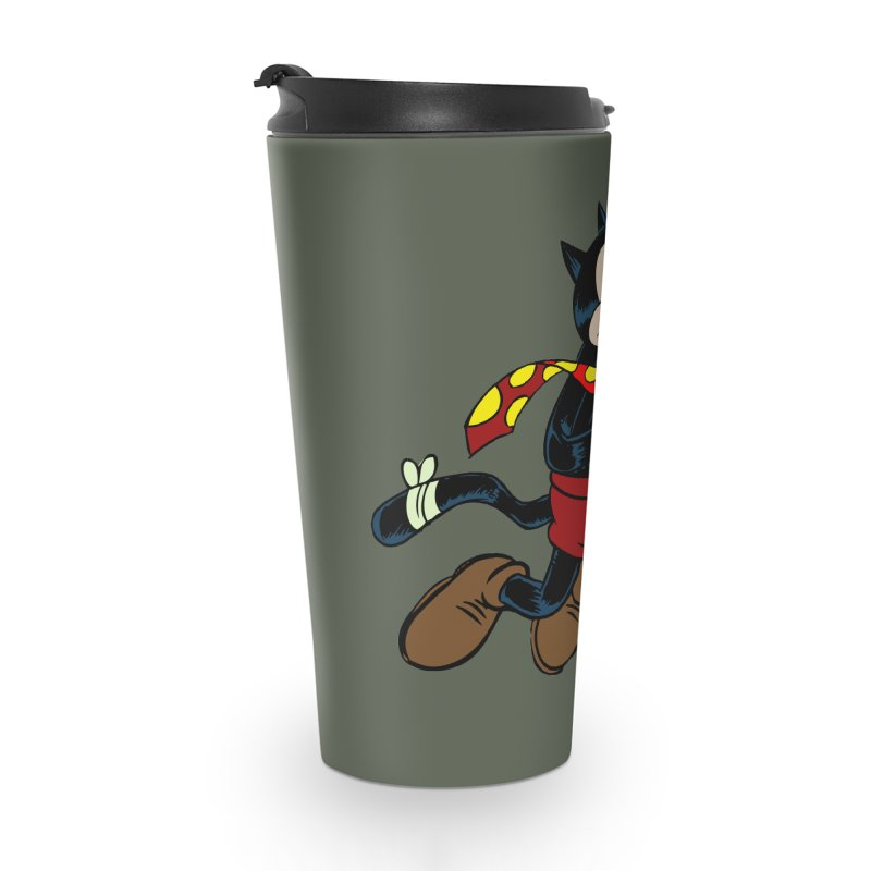 Dingbat the Cat Accessories Travel Mug by Magic Inkwell