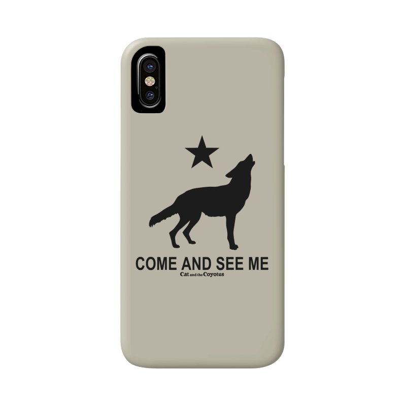 Come and See Me Tee Accessories Phone Case by Magic Inkwell