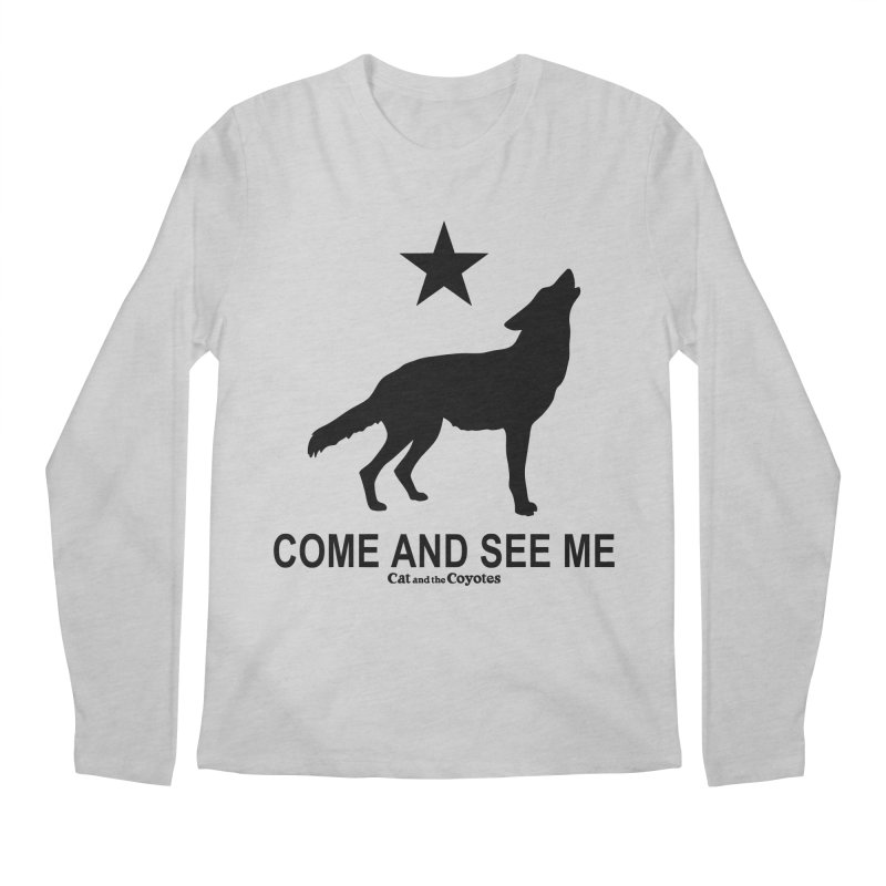 Come and See Me Tee Men's Regular Longsleeve T-Shirt by Magic Inkwell