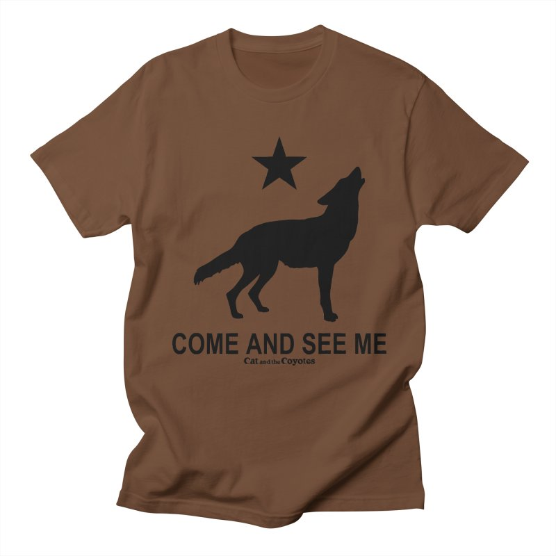Come and See Me Tee Men's Regular T-Shirt by Magic Inkwell
