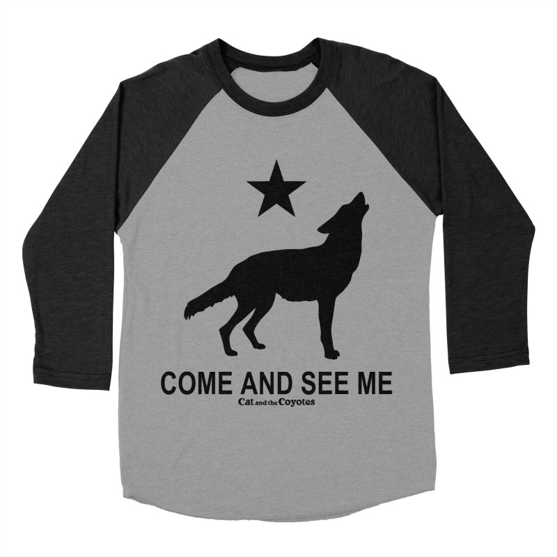 Come and See Me Tee Men's Baseball Triblend Longsleeve T-Shirt by Magic Inkwell