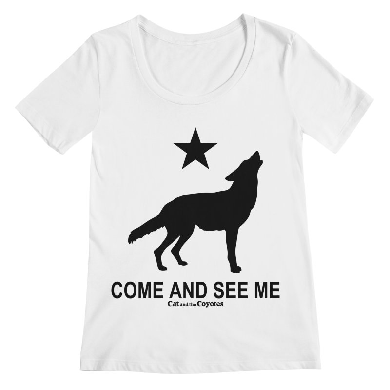 Come and See Me Tee Women's Regular Scoop Neck by Magic Inkwell