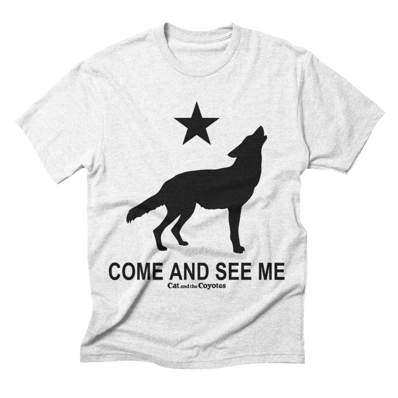Come and See Me Tee Men's Triblend T-shirt by Magic Inkwell