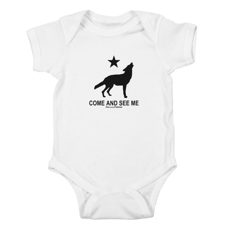 Come and See Me Tee Kids Baby Bodysuit by Magic Inkwell