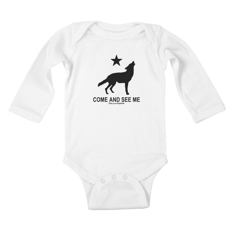 Come and See Me Tee Kids Baby Longsleeve Bodysuit by Magic Inkwell