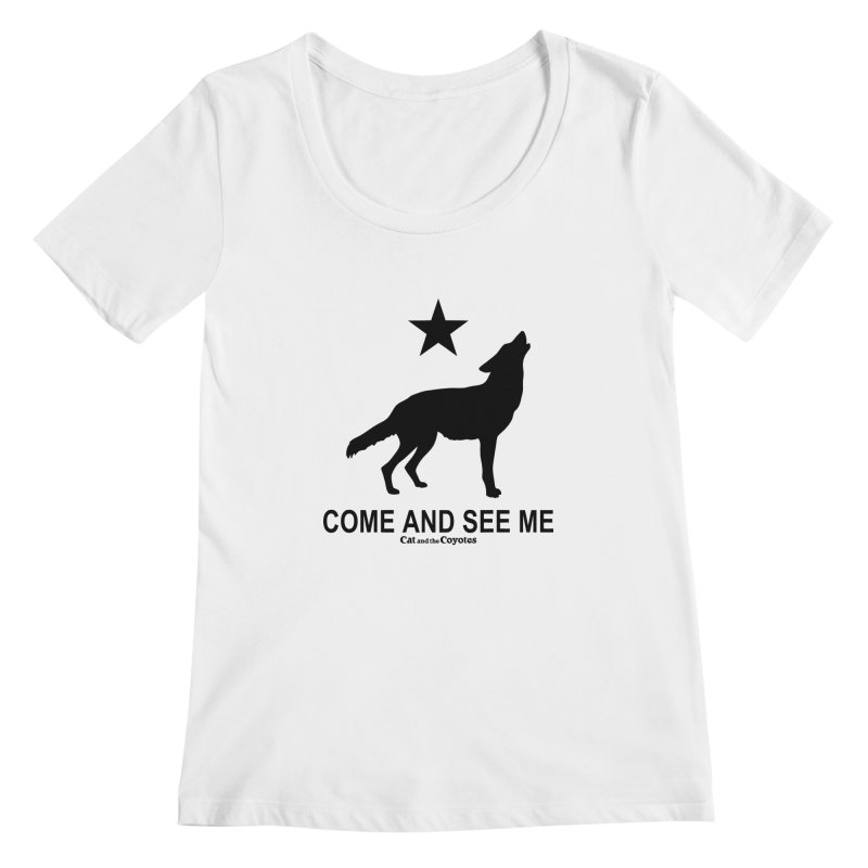 Come and See Me Tee Women's Scoopneck by Magic Inkwell