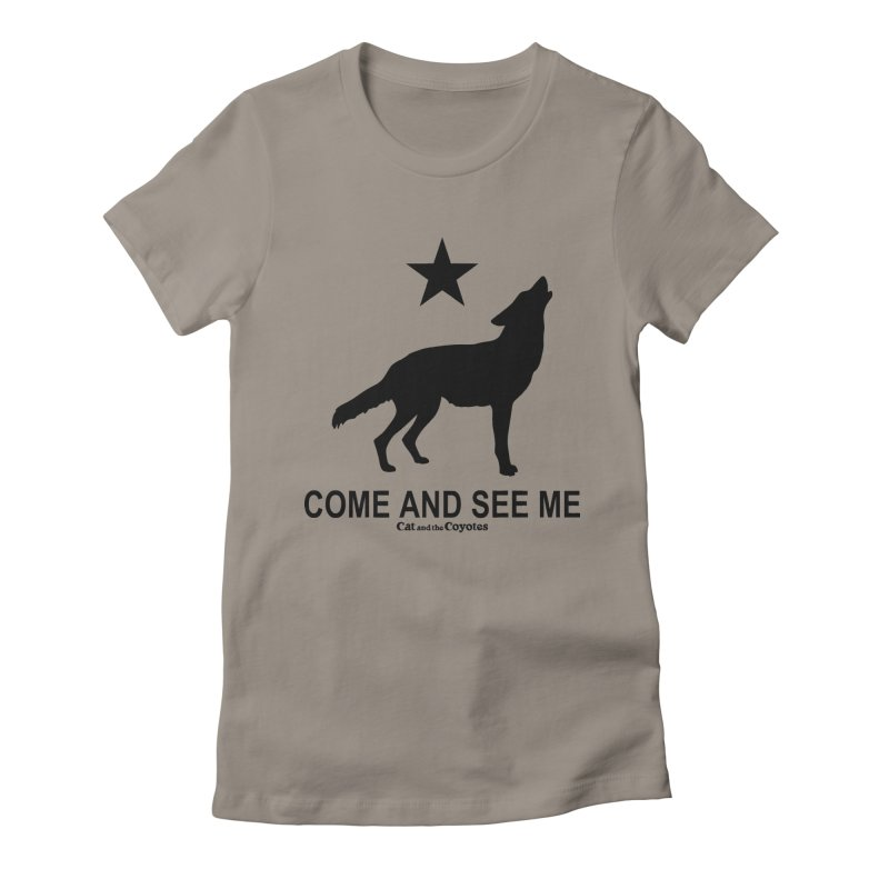 Come and See Me Tee Women's Fitted T-Shirt by Magic Inkwell