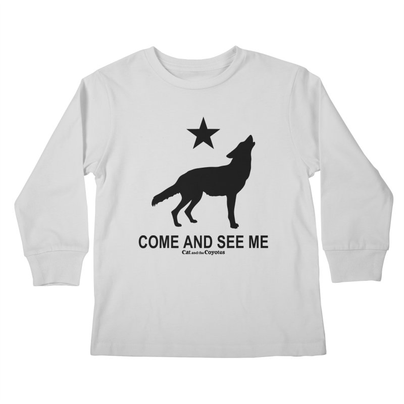 Come and See Me Tee Kids Longsleeve T-Shirt by Magic Inkwell