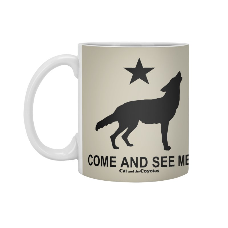 Come and See Me Tee Accessories Standard Mug by Magic Inkwell