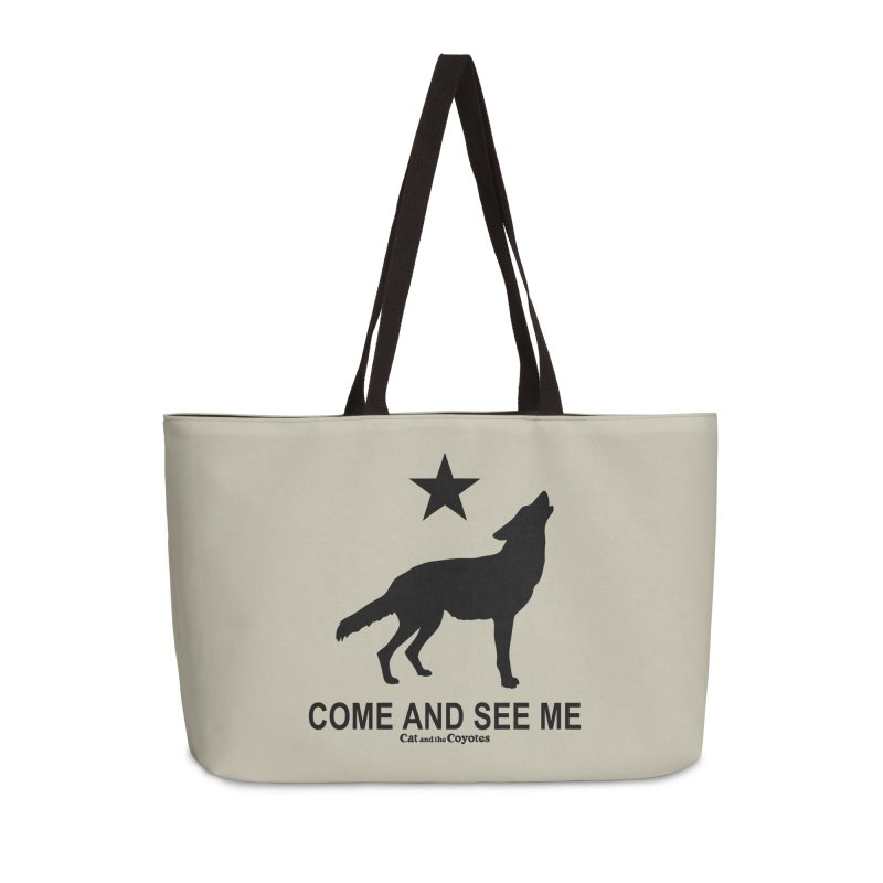 Come and See Me Tee Accessories Weekender Bag Bag by Magic Inkwell