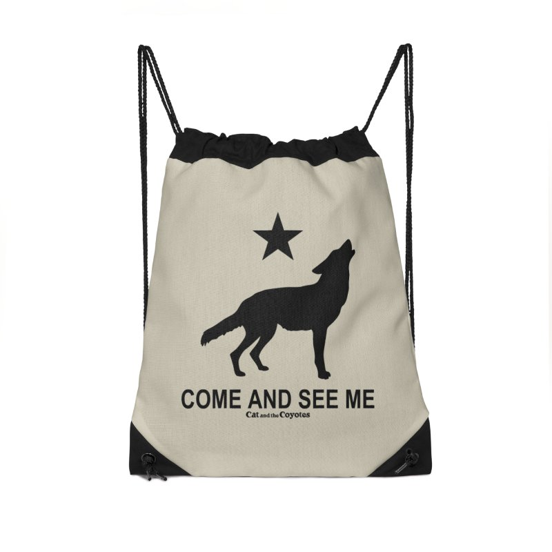 Come and See Me Tee Accessories Drawstring Bag Bag by Magic Inkwell