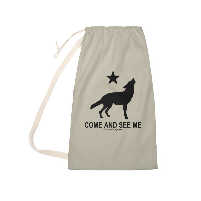 Come and See Me Tee Accessories Laundry Bag Bag by Magic Inkwell