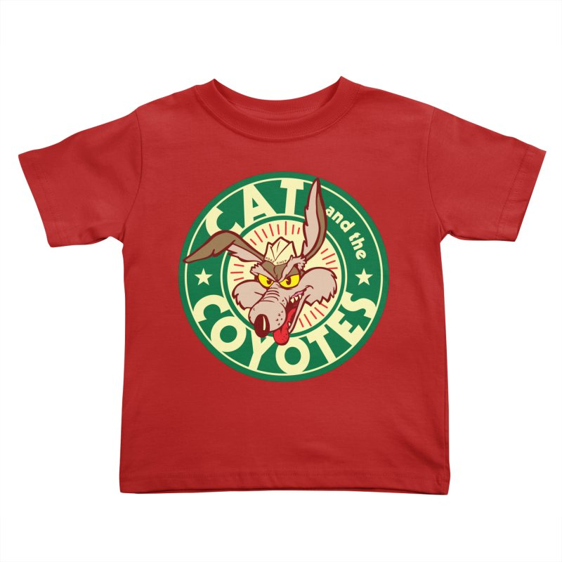 Cat and the Coyotes Poke Chop Tee   by Magic Inkwell