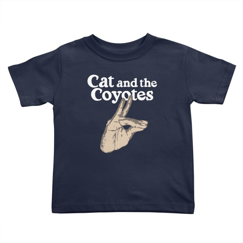 Cat and the Coyotes Coyote Fingers Tee   by Magic Inkwell