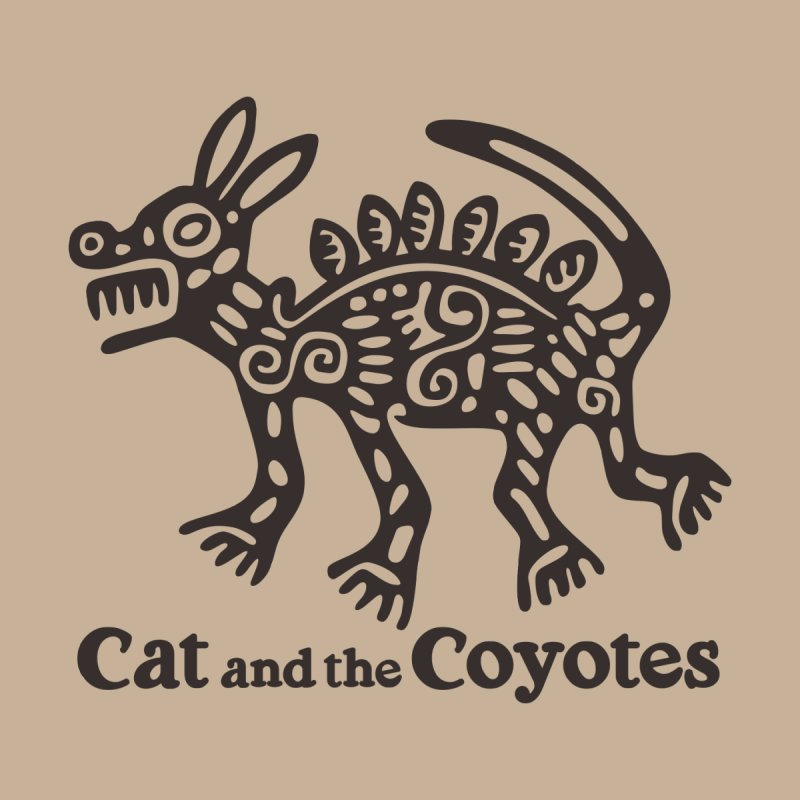 Cat and the Coyotes Coyote Azteca Tee Men's Tank by Magic Inkwell