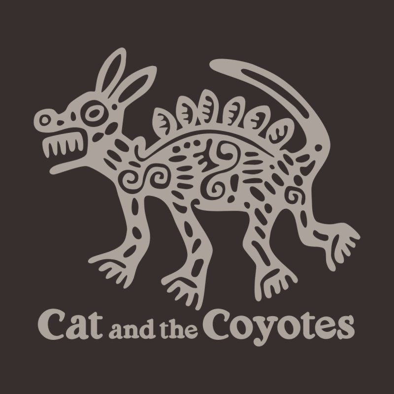 Cat and the Coyotes Coyote Azteca 2nd Colorway Accessories Notebook by Magic Inkwell