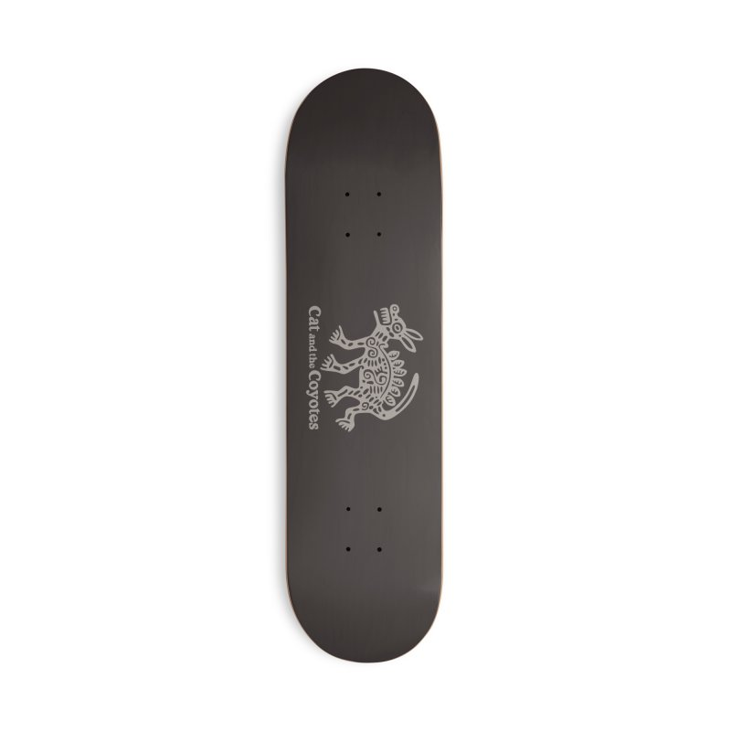 Cat and the Coyotes Coyote Azteca 2nd Colorway Accessories Deck Only Skateboard by Magic Inkwell