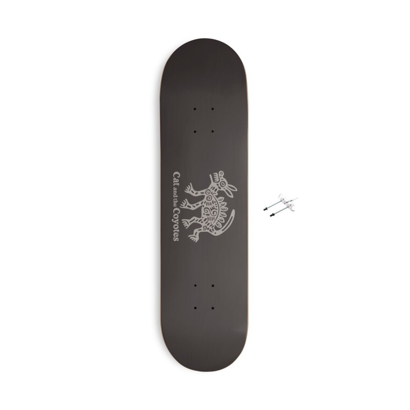 Cat and the Coyotes Coyote Azteca 2nd Colorway Accessories Skateboard by Magic Inkwell