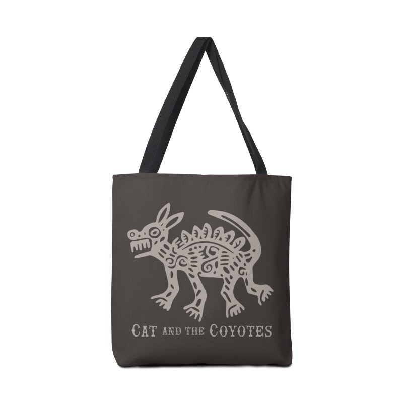 Cat and the Coyotes Coyote Azteca 2nd Colorway Accessories Bag by Magic Inkwell