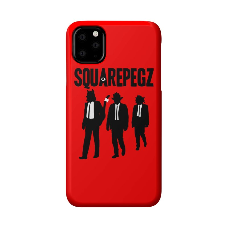 Squarepegz Reservoir Pegz Tee Accessories Phone Case by Magic Inkwell