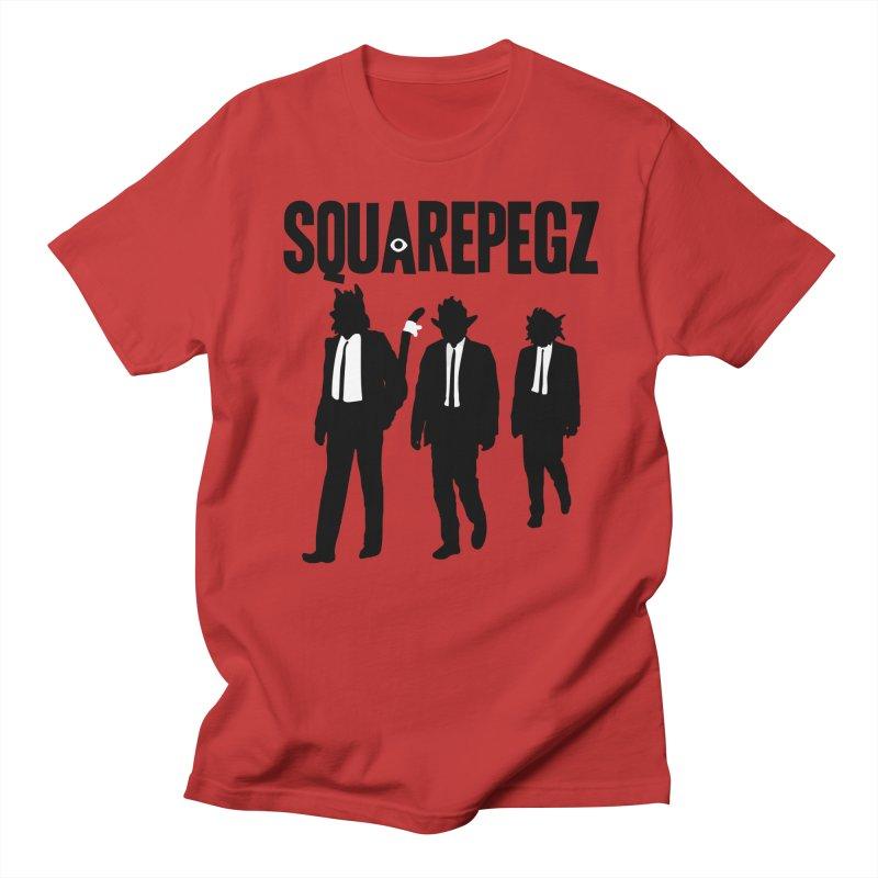 Squarepegz Reservoir Pegz Tee Men's T-Shirt by Magic Inkwell