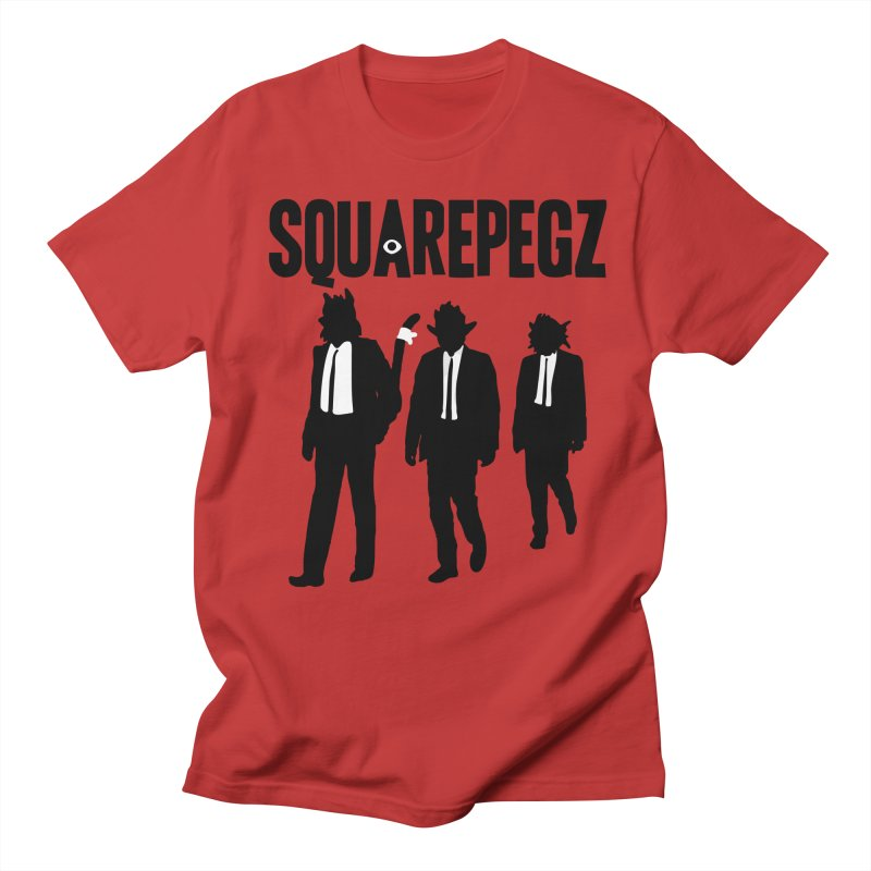 Squarepegz Reservoir Pegz Tee Men's Regular T-Shirt by Magic Inkwell
