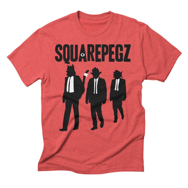 Squarepegz Reservoir Pegz Tee Men's Triblend T-Shirt by Magic Inkwell