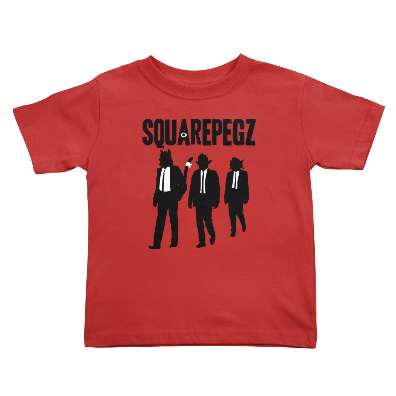Squarepegz Reservoir Pegz Tee Kids Toddler T-Shirt by Magic Inkwell