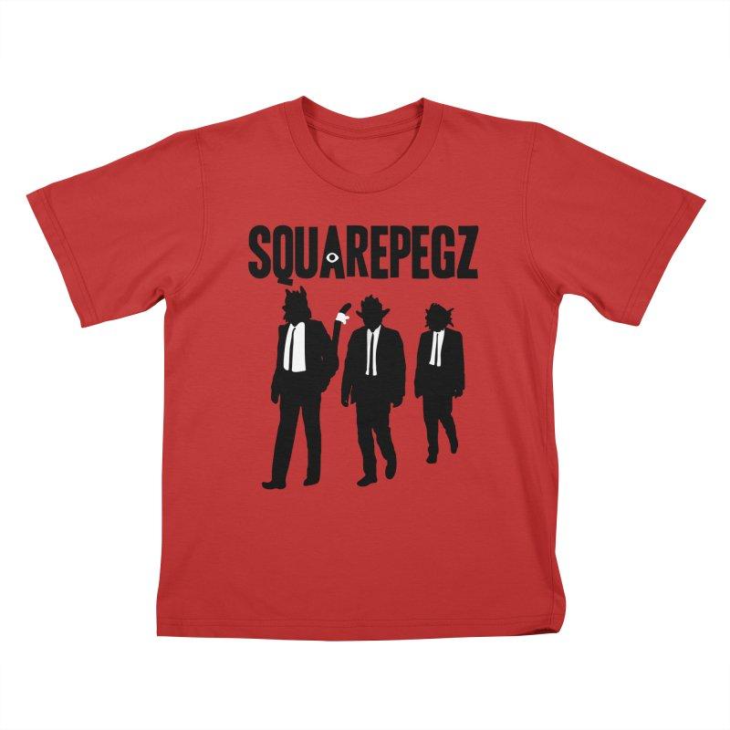 Squarepegz Reservoir Pegz Tee Kids T-Shirt by Magic Inkwell