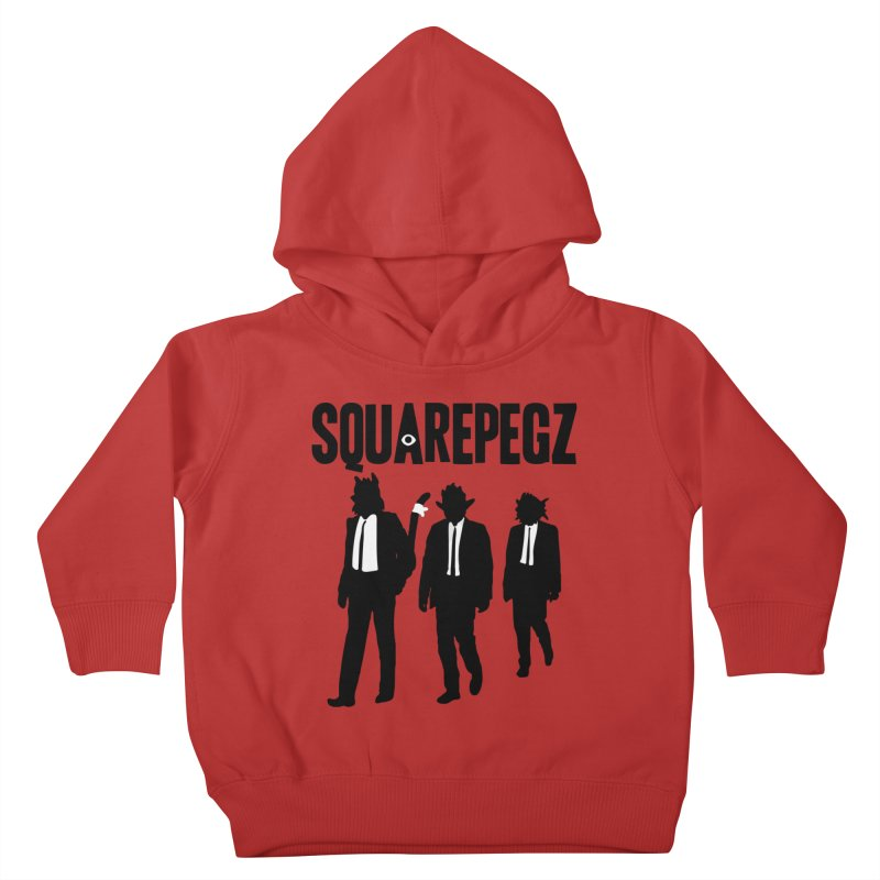 Squarepegz Reservoir Pegz Tee Kids Toddler Pullover Hoody by Magic Inkwell