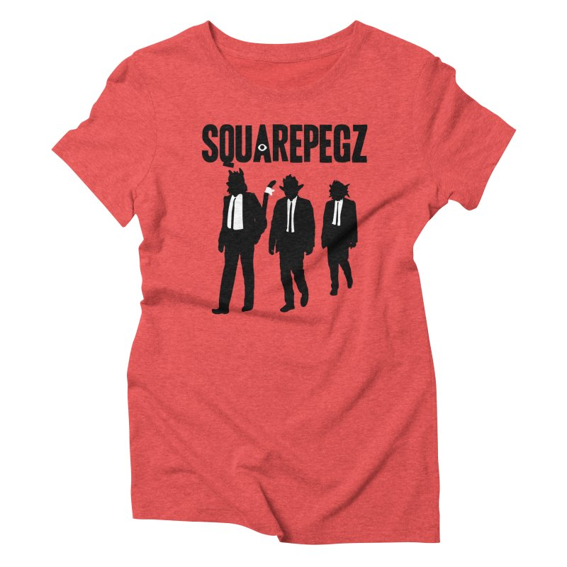 Squarepegz Reservoir Pegz Tee Women's Triblend T-Shirt by Magic Inkwell