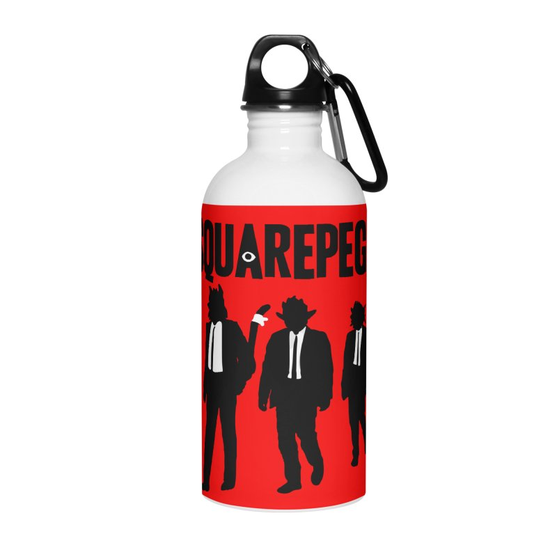 Squarepegz Reservoir Pegz Tee Accessories Water Bottle by Magic Inkwell