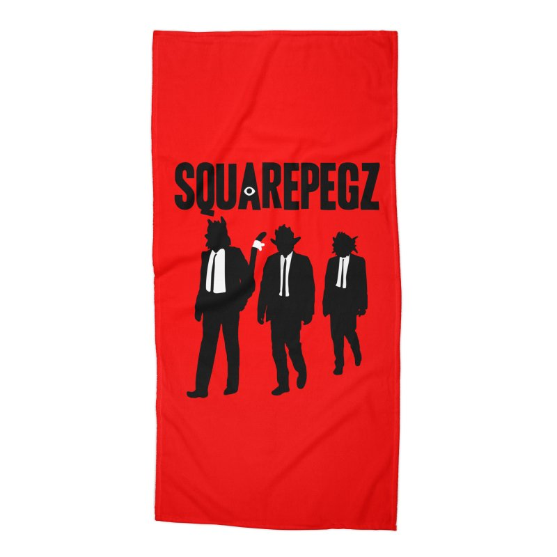 Squarepegz Reservoir Pegz Tee Accessories Beach Towel by Magic Inkwell