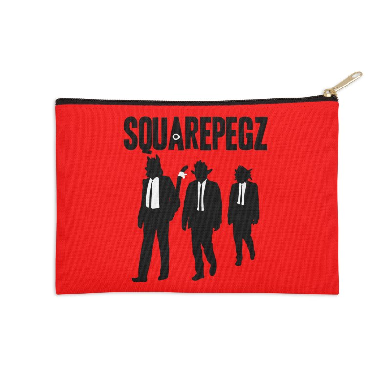Squarepegz Reservoir Pegz Tee Accessories Zip Pouch by Magic Inkwell