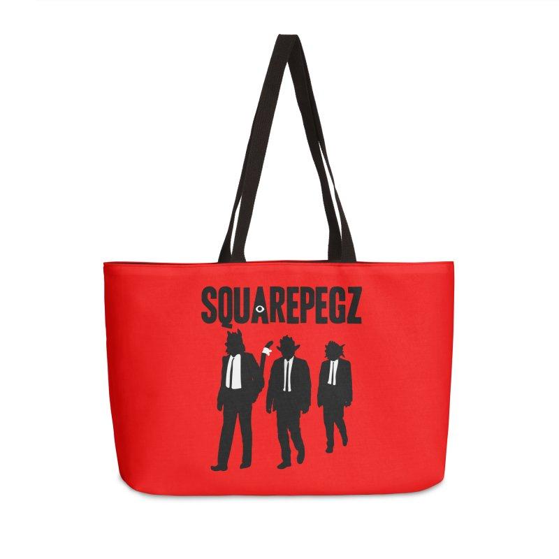 Squarepegz Reservoir Pegz Tee Accessories Weekender Bag Bag by Magic Inkwell