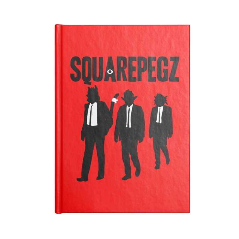 Squarepegz Reservoir Pegz Tee Accessories Blank Journal Notebook by Magic Inkwell