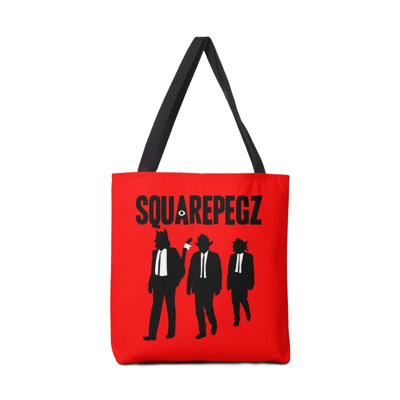 Squarepegz Reservoir Pegz Tee Accessories Tote Bag Bag by Magic Inkwell
