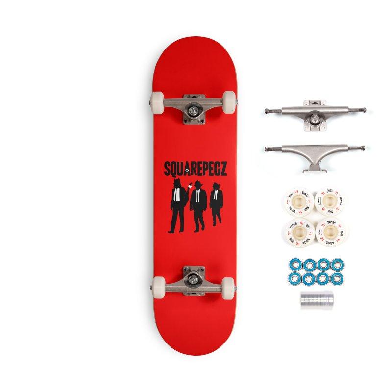 Squarepegz Reservoir Pegz Tee Accessories Complete - Premium Skateboard by Magic Inkwell
