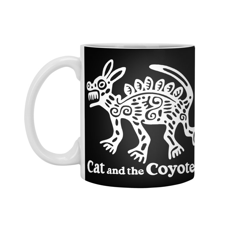 Azteca Dog Black and White Accessories Standard Mug by Magic Inkwell