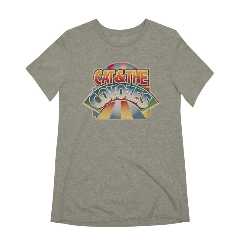 Traveling Coyotes Women's Extra Soft T-Shirt by Magic Inkwell